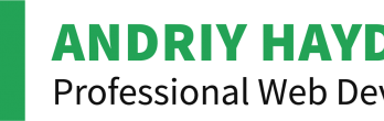 Andriy Haydash - Freelance WordPress Developer