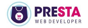Presta Web Developer